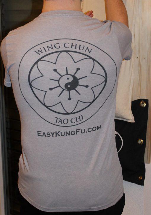 T-Shirt Wing Chun grau