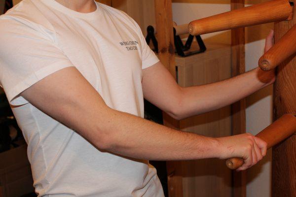 Wing Chun T-Shirt vorn